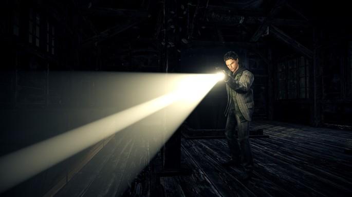 Alan Wake - Juegos de terror para PC pocos requisitos
