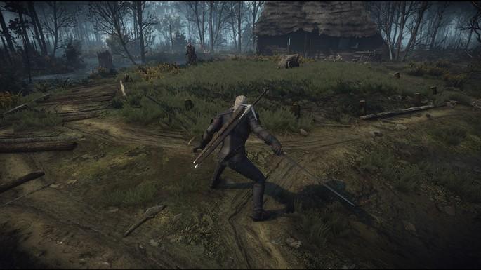 Animaciones de esquiva The Witcher 3 Mods