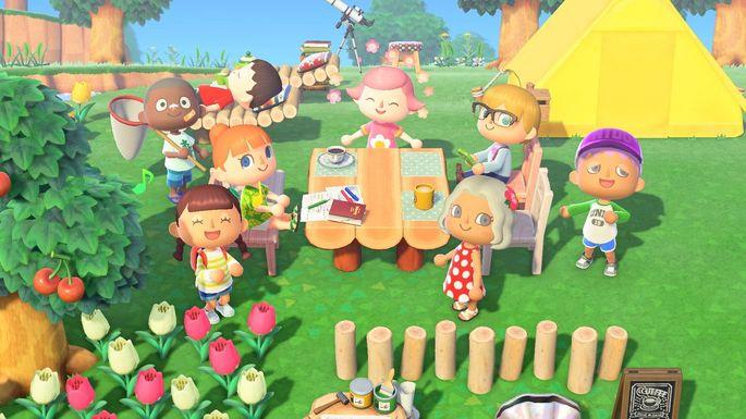 Animal Crossing New Horizons - Juegos de multijugador