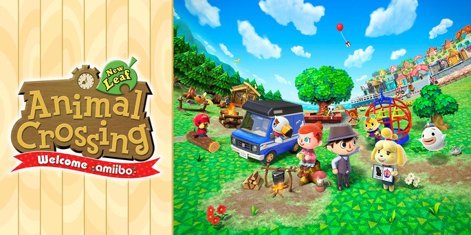 Animal Crossing New Leaf - Mejores juegos 3DS