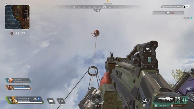 Apex Legends - Torre de Salto globo rojo
