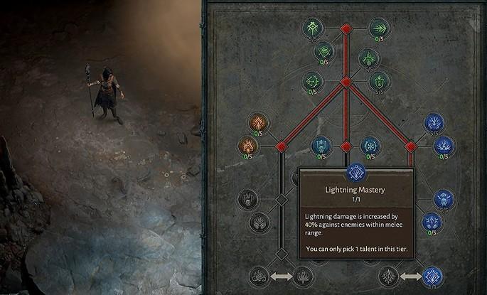 Árbol de talentos Diablo 4