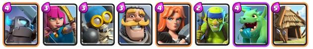 Clash Royale: Mazo 1 para Arena 3