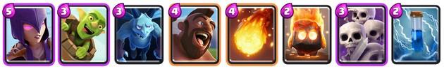 Clash Royale: Mazo 1 para Arena 5