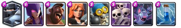 Clash Royale: Mazo 1 para Arena 7