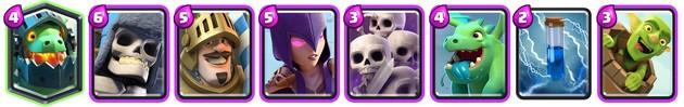 Clash Royale: Mazo 2 para Arena 7