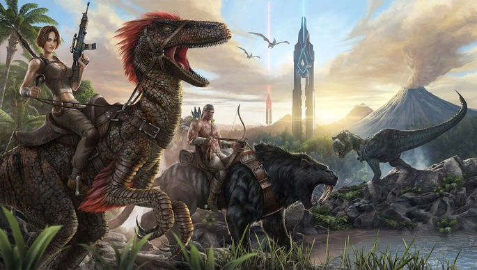 Ark Survival Evolved - Juegos con crossplay