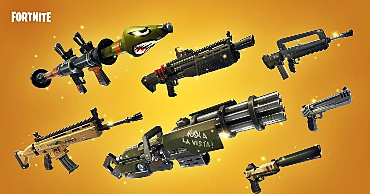 Conoce Todas Las Armas De Fortnite Battle Royale Y Descubre Las