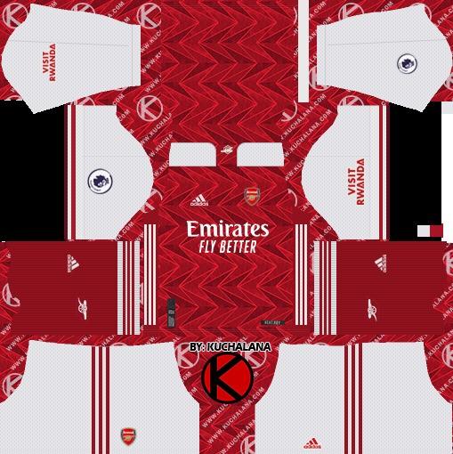 Arsenal Dream League Soccer Kit