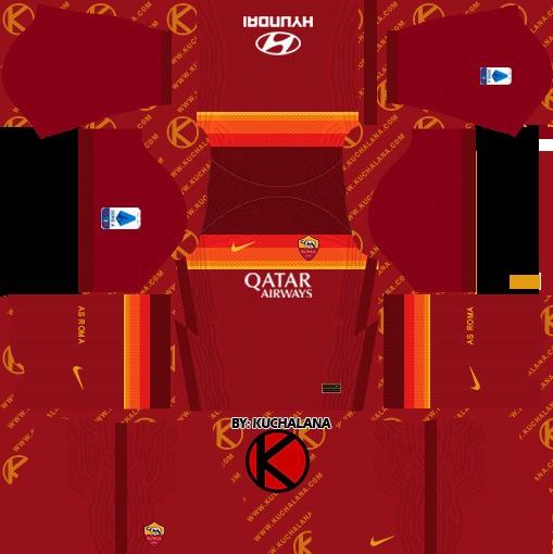 AS Roma kit Dream League Soccer