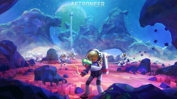 Astroneer - Juegos con crossplay
