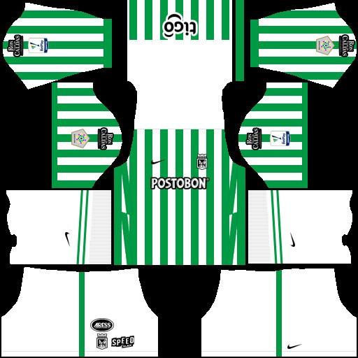 Atlético Nacional Uniforme local Dream League Soccer