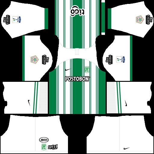 Atlético Nacional Uniforme local Dream League Soccer