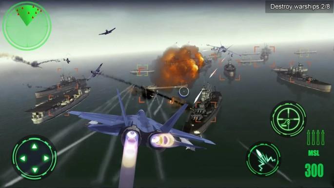 Avión de Guerra 3D