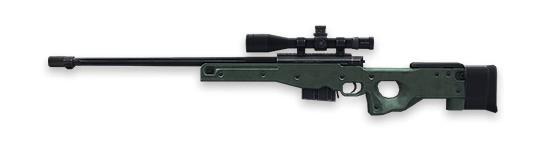 AWM Rifles de francotirador Free Fire
