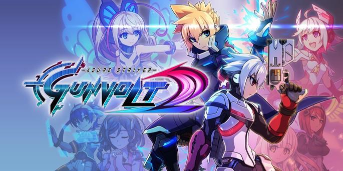 Azure Striker Gunvolt 2 - Mejores juegos 3DS