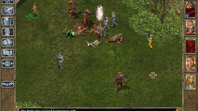 Baldur's Gate II Shadows of Amn - Juegos antiguos PC
