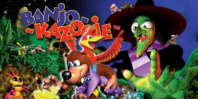 Banjo-Kazooie - Mejores juegos de la Nintendo 64
