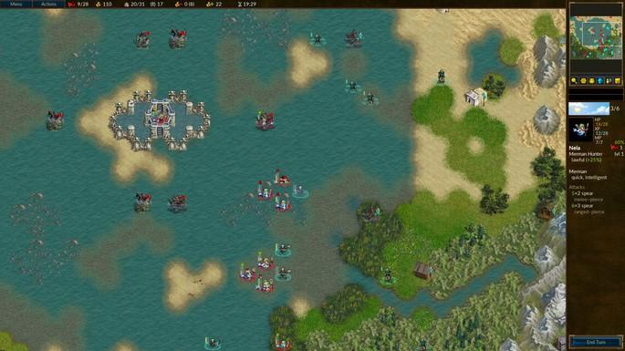 Battle for Wesnoth - Juegos de estrategia PC gratis