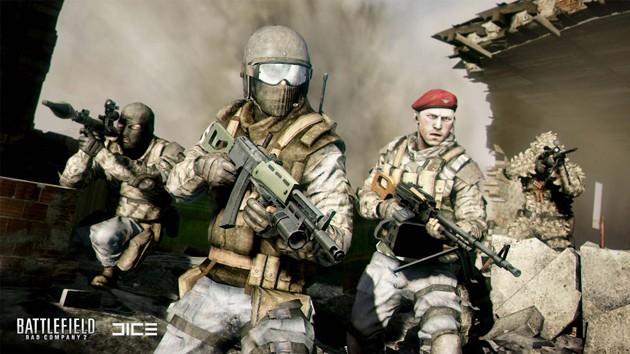 Juegos de tiros para PC con pocos requisitos: Battlefield Bad Company 2