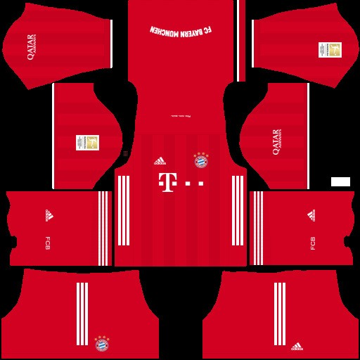 Bayern Dream League Soccer kit