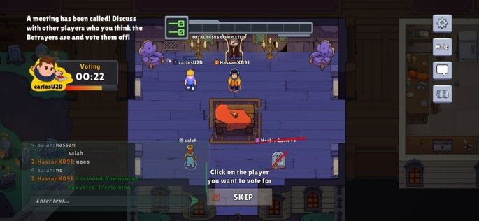 Betrayal.io - Juegos parecidos a Among Us