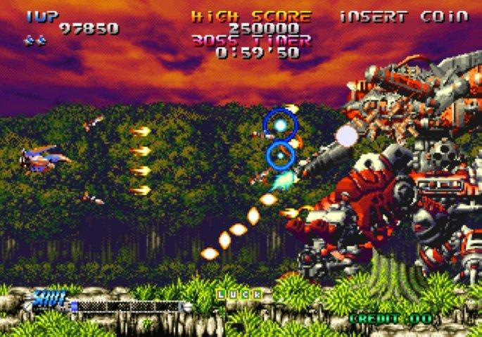 Blazing Star Neo Geo