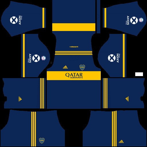 Boca Juniors Uniforme local versión 2 Dream League Soccer