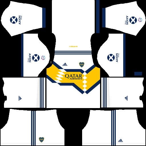 Boca Juniors Uniforme visitante versión 2 Dream League Soccer