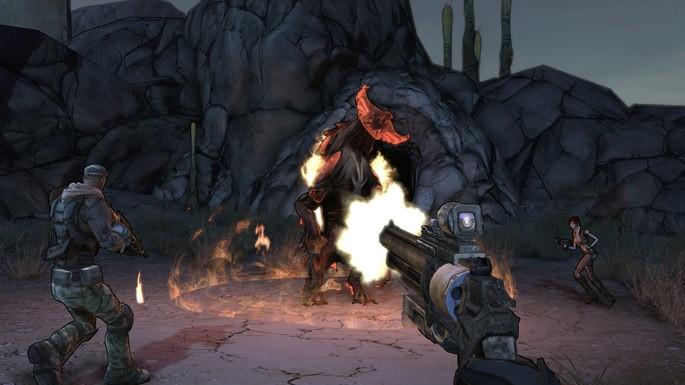 Juegos de tiros para PC con pocos requisitos: Borderlands 1