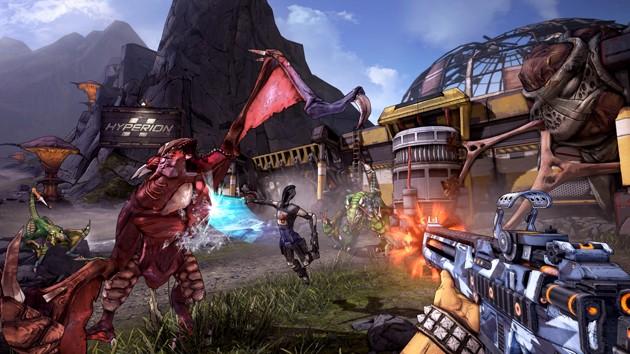 Juegos de tiros para PC con pocos requisitos: Borderlands 2