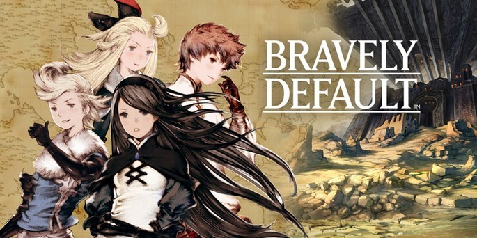 Bravely Default - Mejores juegos 3DS