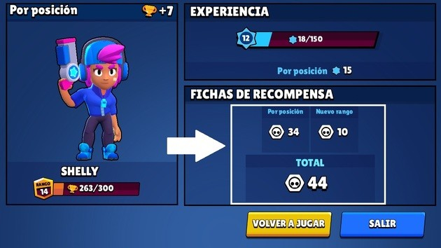 Brawl Stars conseguir fichas normales