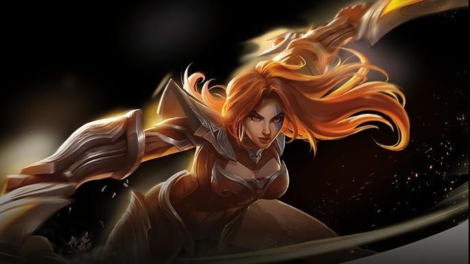 Brunhild - Guerrera de Champions Legion