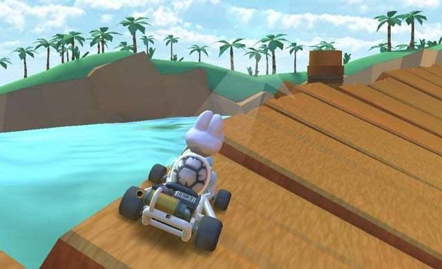 Caídas en Mario Kart Tour