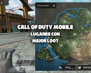 Call of Duty Mobile: lugares con mejor loot en el modo Battle Royale