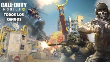 Call of Duty Mobile: todos los rangos, puntos y recompensas