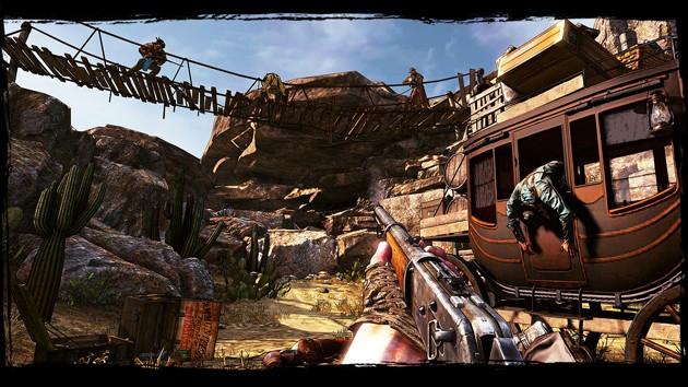 Juegos de tiros para PC con pocos requisitos: Call of Juarez Gunslinger