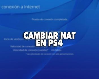 Cambiar NAT en PS4: 2 pasos para mejorar la conexión a Internet