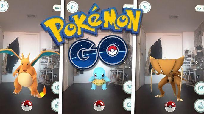 Capturar Pokémons en Pokémon GO