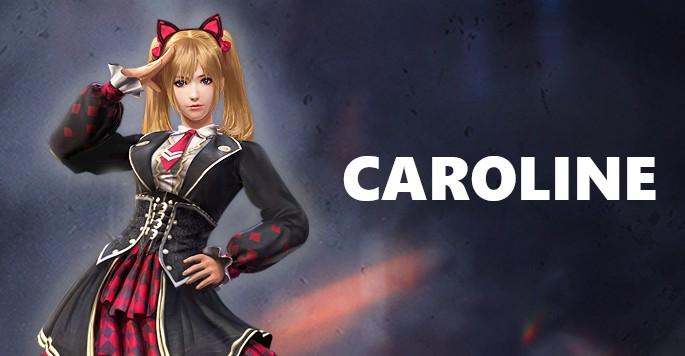 Caroline - Mujeres de Free Fire