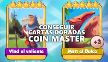 Consigue cartas doradas en Coin Master con estos 6 trucos