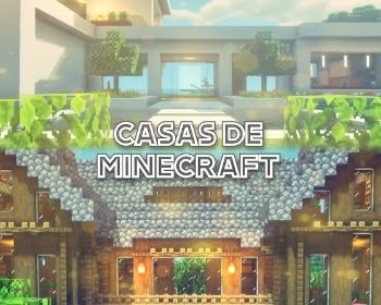 Casas de Minecraft: ideas para hacer casas modernas, mansiones y más