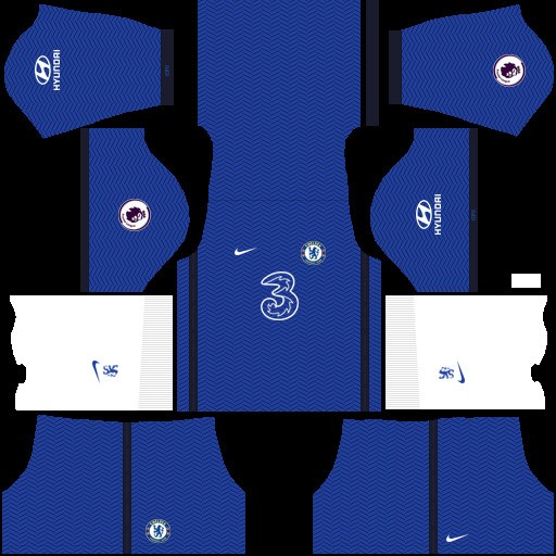 Chelsea Dream League Soccer Kit