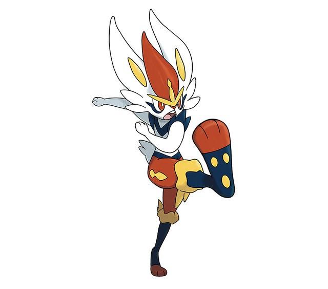 Cinderace Pokémon Espada y Escudo