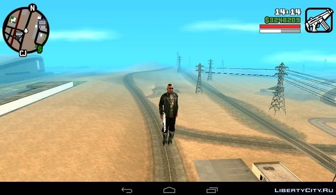 CJ volador GTA San Andreas mod