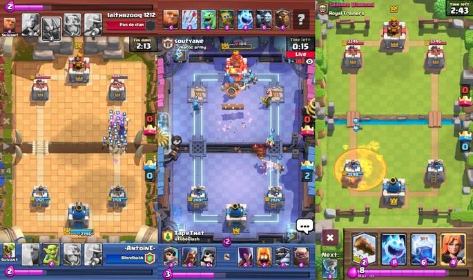 Clash Royale - Juegos de multijugador