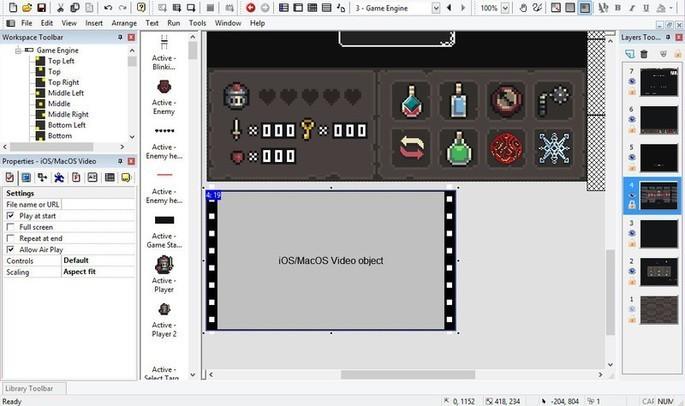 Programas para crear videojuegos - Clickteam Fusion 2.5