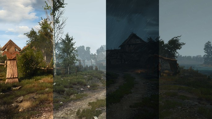Clima realista The Witcher 3 mods