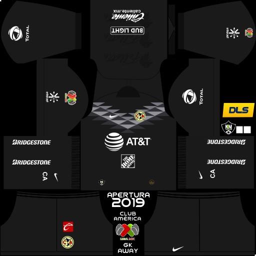Club América Tercer uniforme del portero